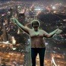 Night at Burj Khalifa